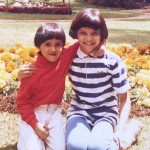 Then and now: Deepika with sister Anisha